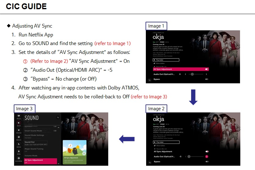 LG Help Library: Lip Sync Issues (asynchronous sound) | LG ...