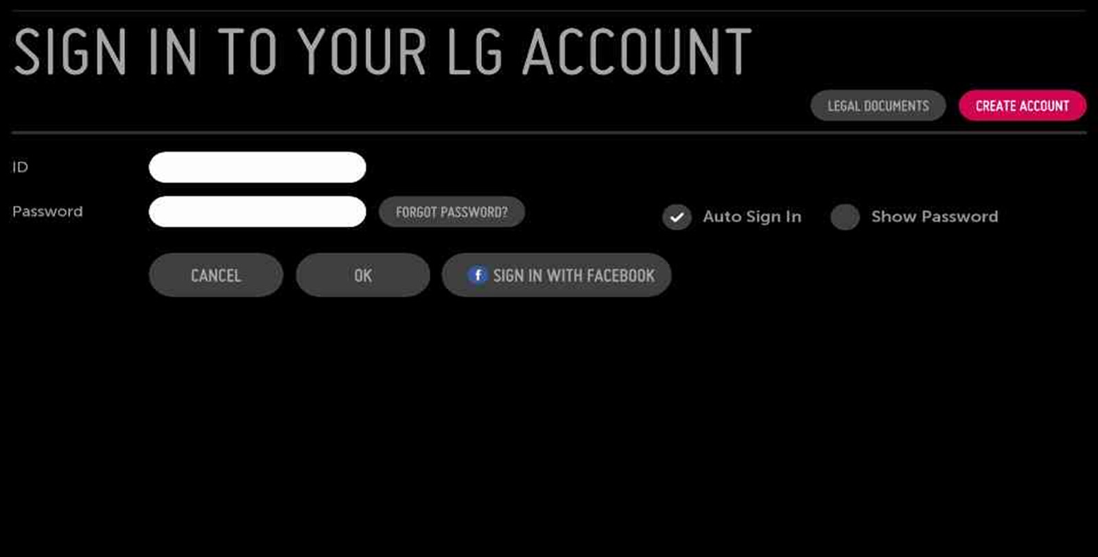 LG Smart World Account Management - Creating LG Accounts | LG USA