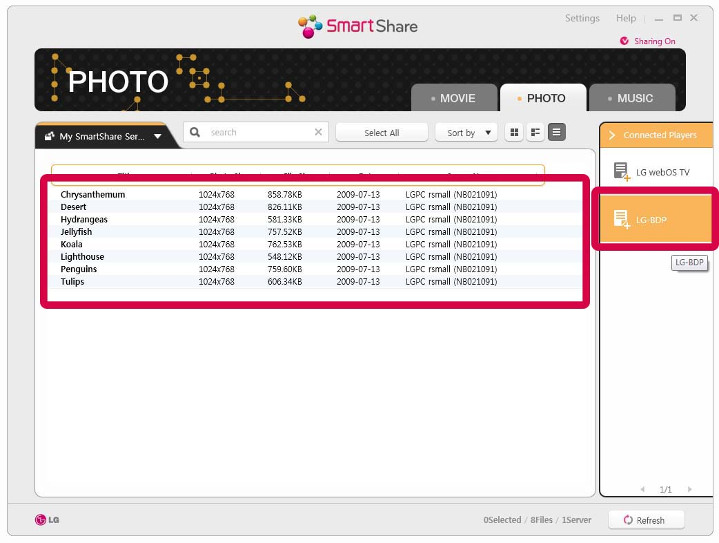 Lg smart share 2. 3. 1511. 1201 free download for windows 10, 8 and 7.