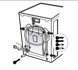lg front load washing machine instructions