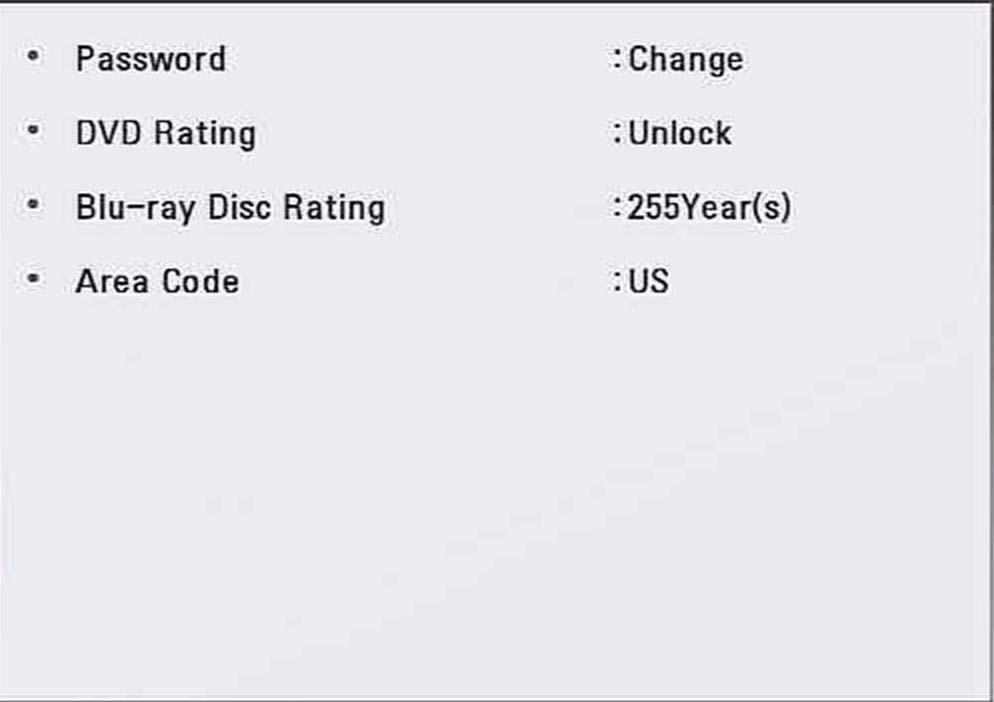 LG Help Library Bluray Player Menu Settings  Bluray  LG USA