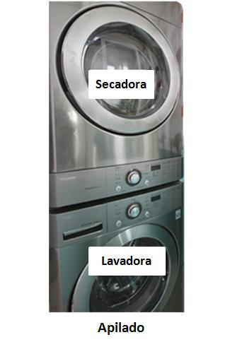 Lg ayuda y tips c mo puedo instalar una secadora arriba - Secadora encima lavadora ...