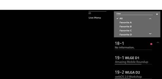 Live TV Setup and Use - HDTV / Netcast / webOS | LG USA Support