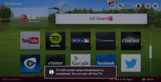 Troubleshooting Premium Apps - TV | LG USA Support