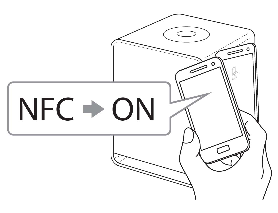 nfc bluetooth speaker instructions