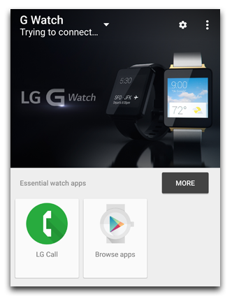 android wear example