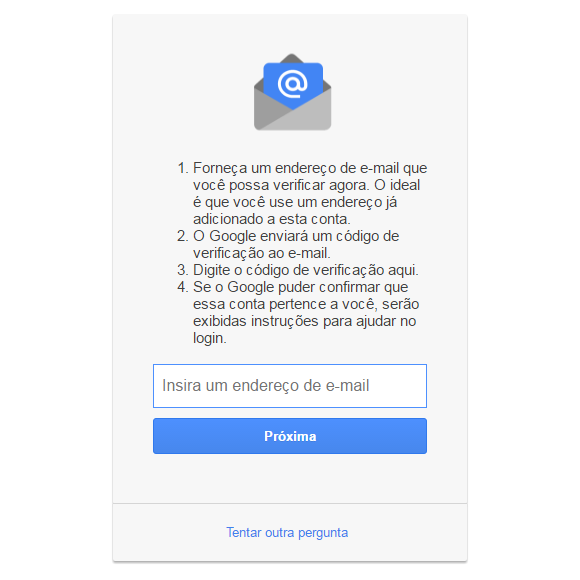 E-mail alternativo PC