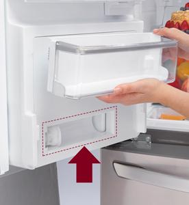 Water Filter Installation - Refrigerator   LG USA Support
