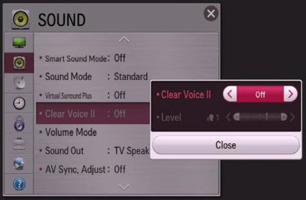 LG Help Library : Is the volume different for each channel