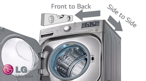 Vibrations - Front Load Washer | LG USA Support