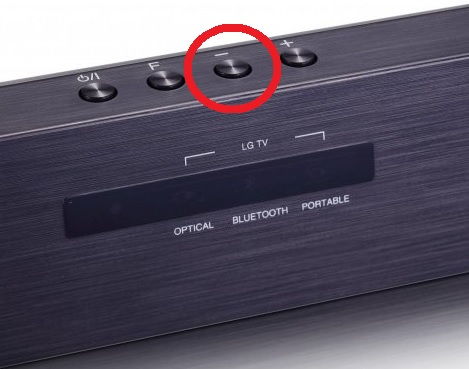 LG Help Library: Seizing (taking over) sound bar's Bluetooth