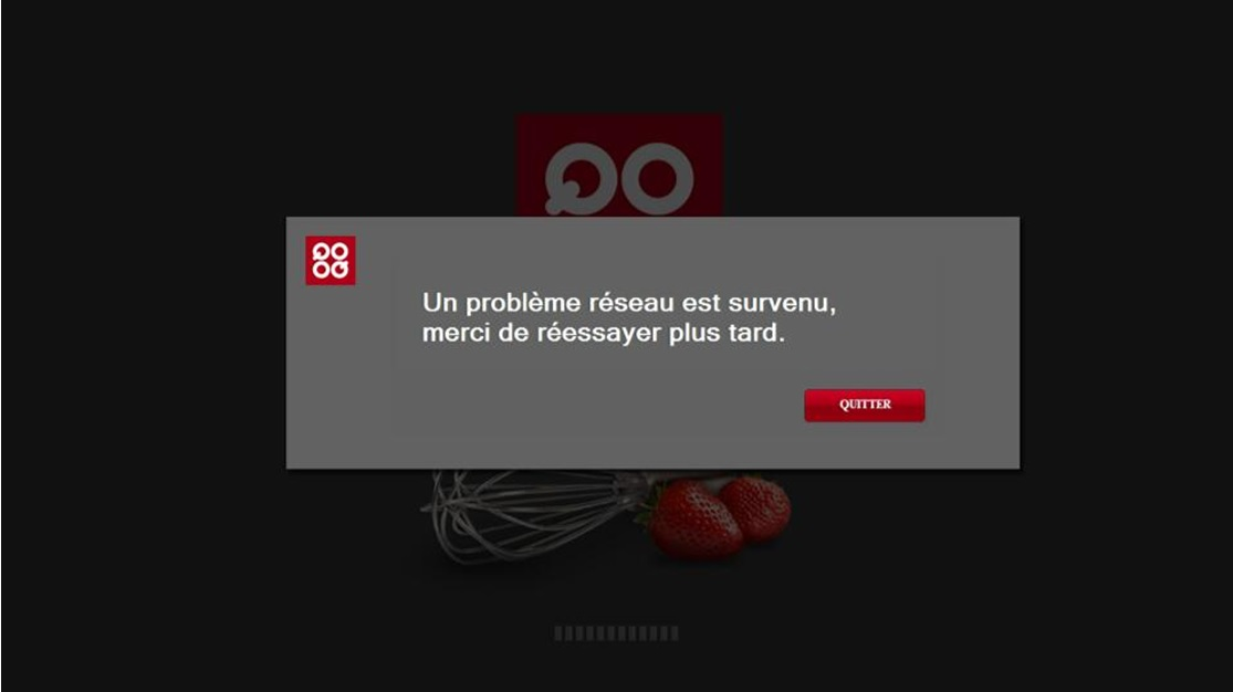 LG Help Library: QOOQ TV App terminated | LG Canada