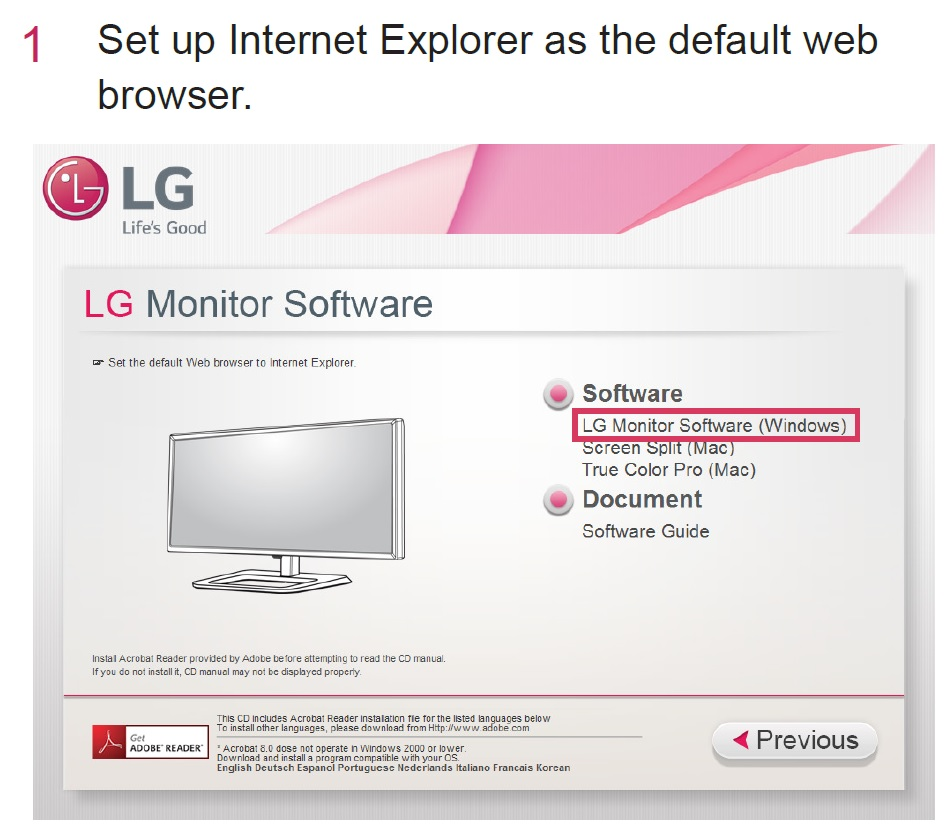 Lg flatron e2242 driver for windows 7.