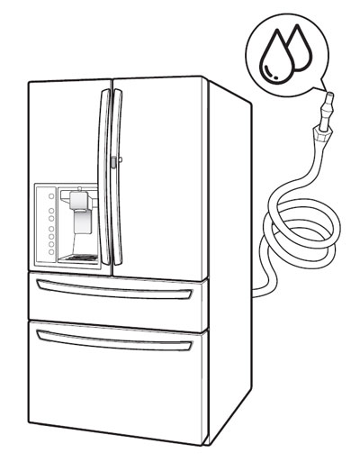 Water does not dispense - Refrigerator | LG USA Support