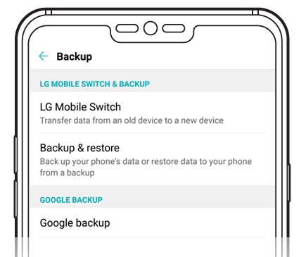 LG ANDROID BACKUP | LG USA Support