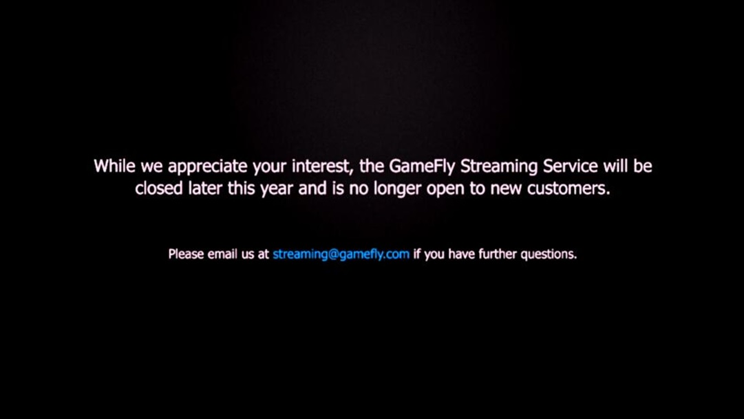 LG Help Library: GameFly Streaming App termination on Smart TV | LG