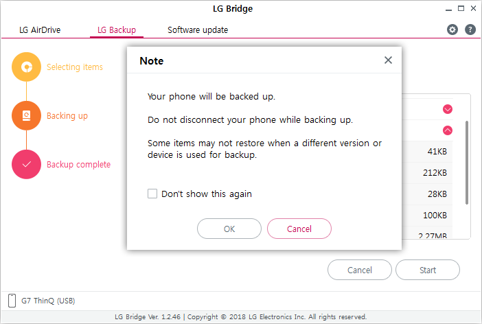 LG BRIDGE - Download & How to Use | LG USA Support