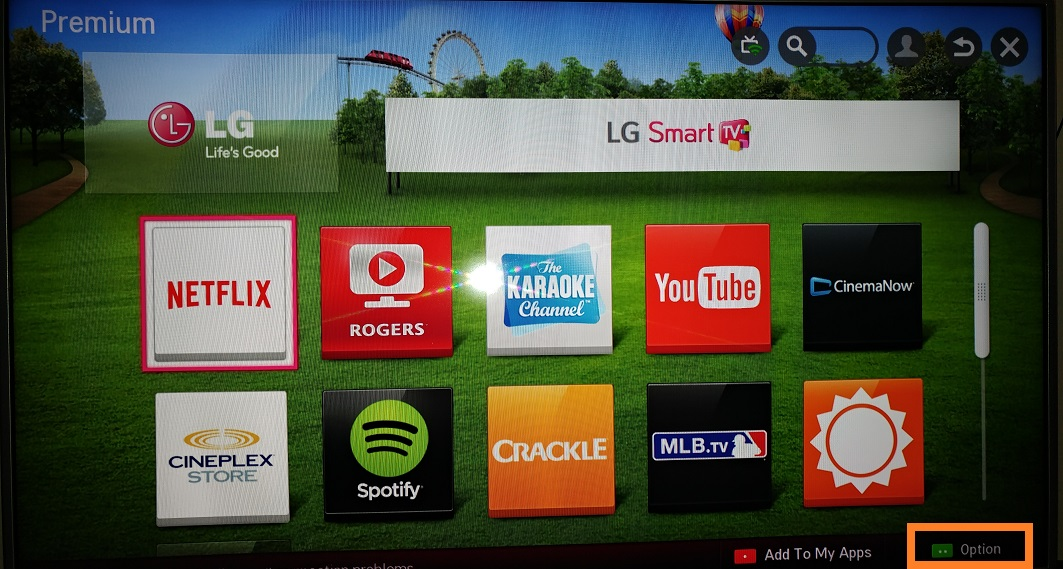 LG Help Library: Netflix automatic sign in issue | LG Canada