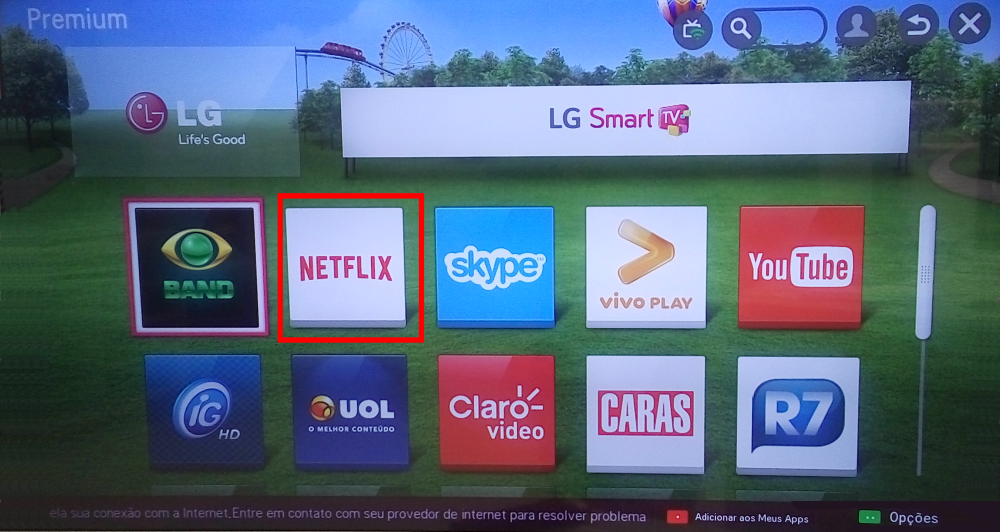 como baixar netflix na smart tv philco