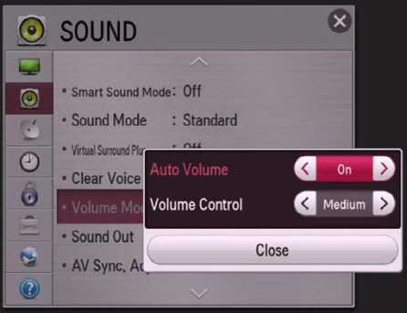 LG Help Library: Audio is too low  | LG Canada