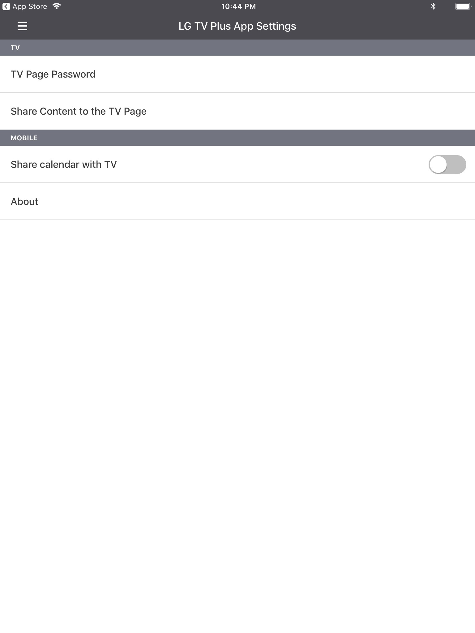 TV - LG TV Plus Remote App | LG USA Support