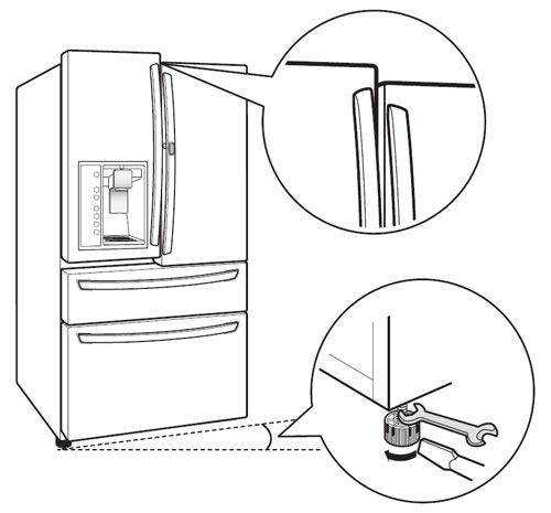 Refrigerator Leaking from Dispenser | LG USA Support on