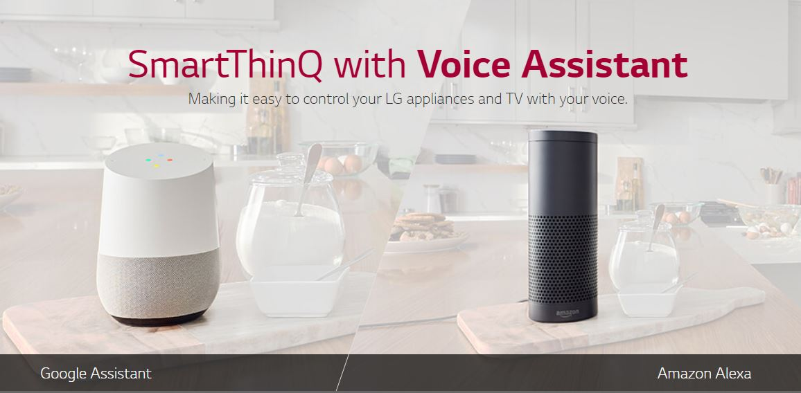 LG Connect LG Appliance with Google Assistant and Amazon Alexa | LG