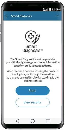 Smart Diagnosis - Front Load Washer | LG USA Support