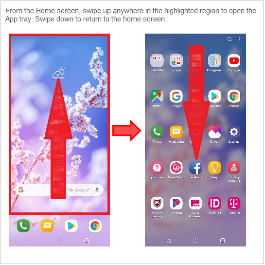 LG How-to & Tips: Updated home screen layout - Using the