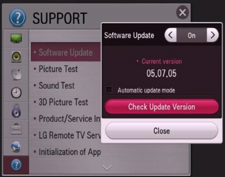 LG How-to & Tips: How do I update TV software (firmware)? | LG U K