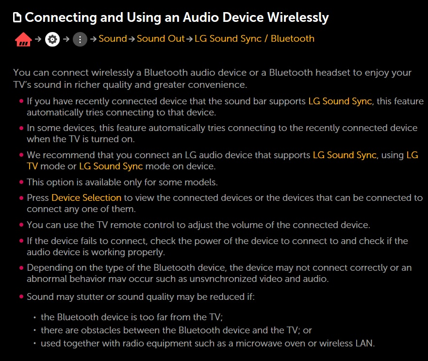LG Help Library: How to Connect an Audio System | LG Canada