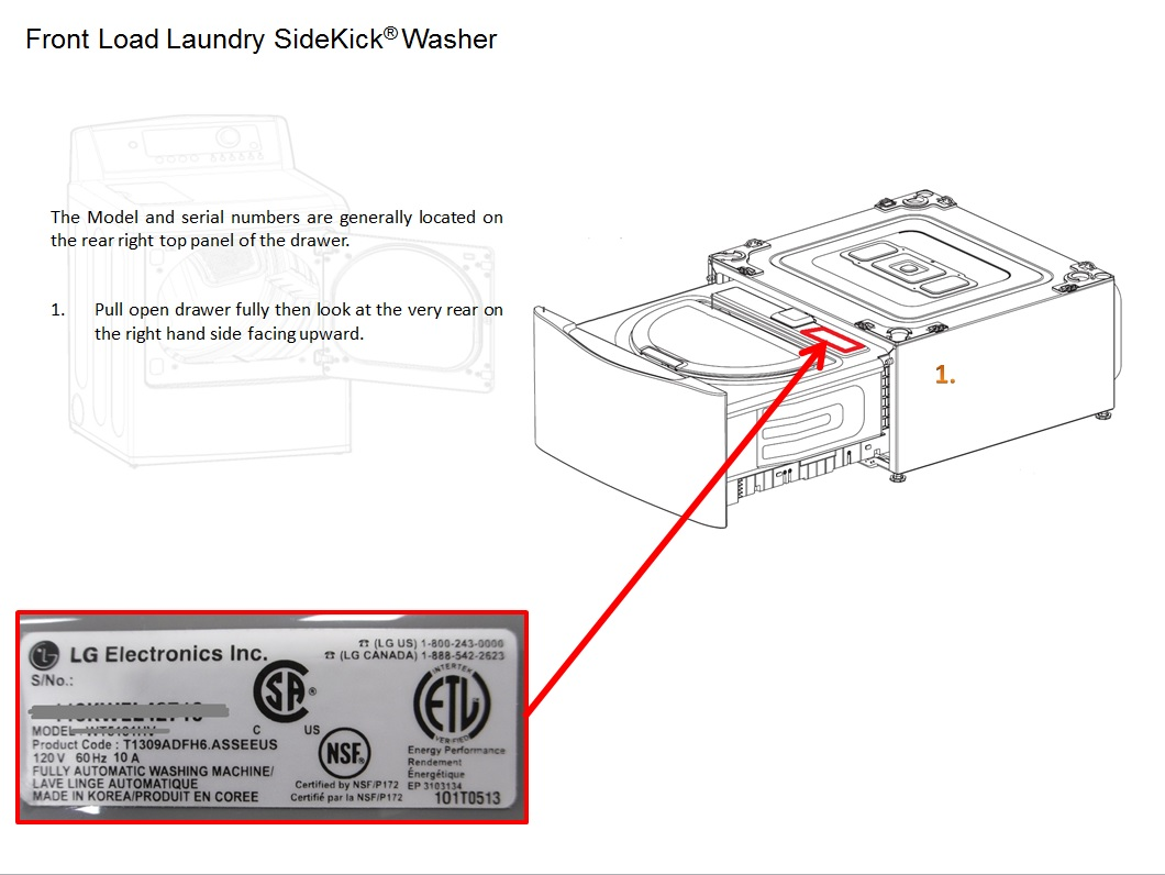 samsung dryer serial number code