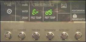 Error Codes - Refrigerator | LG USA Support