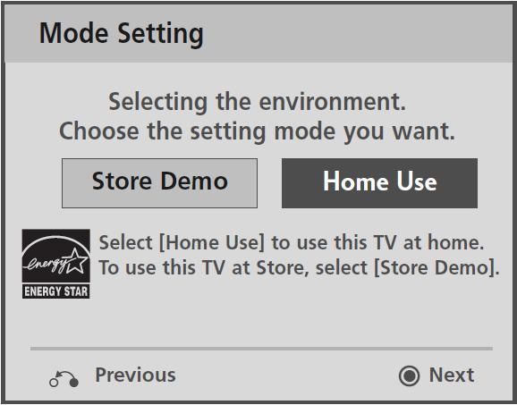 LG Help Library: Disabling DEMO mode on flat panel display