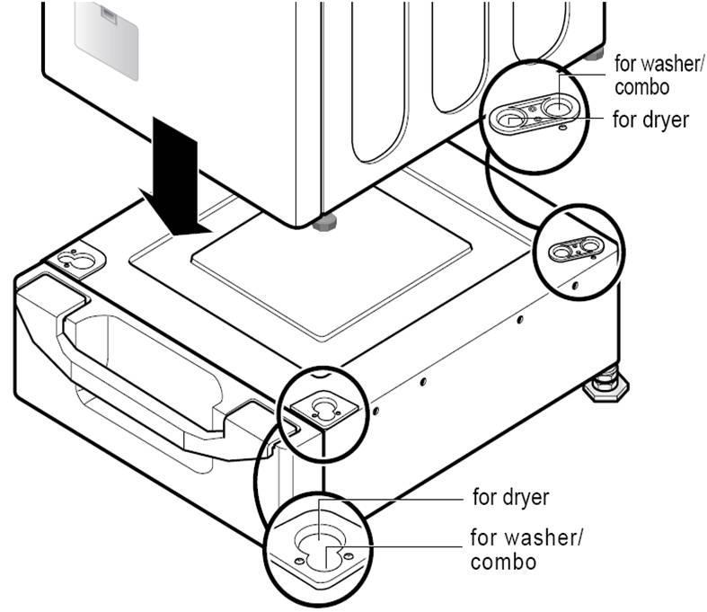 Pedestal - Front Load Washer | LG USA Support