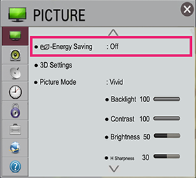 LG TV Picture Menu Settings | LG USA Support