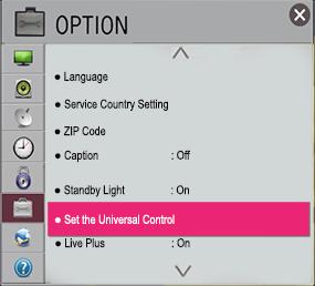 LG Help Library: LG TV Option Menu Settings   LG U A E