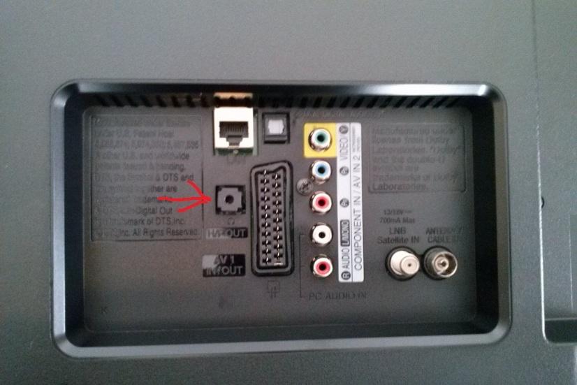 Welp LG FAQ`s: Wo befindet sich der Kopfhoereranschluss beim 42LN5708 CK-23