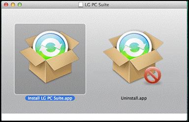 LG Libreria di Supporto: LG PC Suite per Mac: installazione