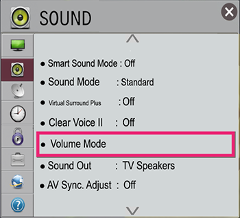 Volume Mode