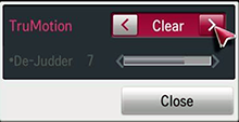 TruMotion Clear
