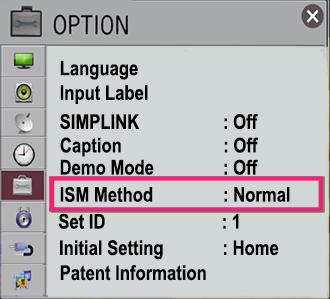 ISM Option