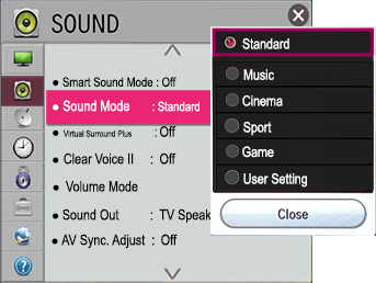 Netcast Settings Menu - Netcast | LG USA Support