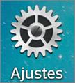 ícone de ajustes
