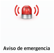Envía su ubicación a través de un mensaje cuando se realice una llamada de emergencia.