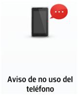 Envía su ubicación a través de un mensaje cuando no se use el teléfono por un largo tiempo.