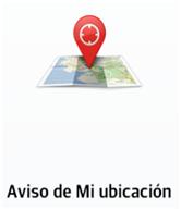 Envía su ubicación a través de un mensaje cuando llame a usuarios registrados.