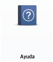 La brinda una guía de información sobre el uso de la aplicación