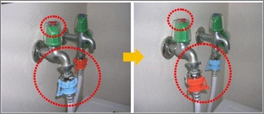 No hay suministro de agua en la lavadora,  desconecte las mangueras y vuelva a conectar para corregir las válvulas de entrada de agua.