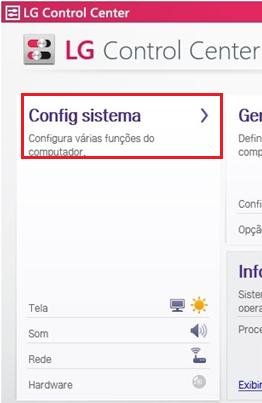 Guia Configuração do Sistema